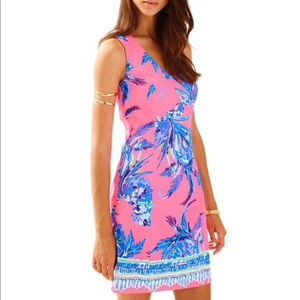 Lilly Pulitzer size 2 Tandie Shift dress Tiki Pink